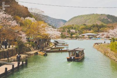 Arashiyama River Cruise, Kyoto