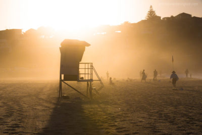 Guarding Lives, Bondi Beach