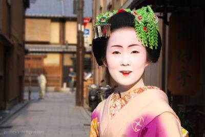 Memoirs of a Maiko, Kyoto