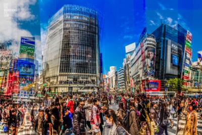 Shibuya Crossings, Tokyo