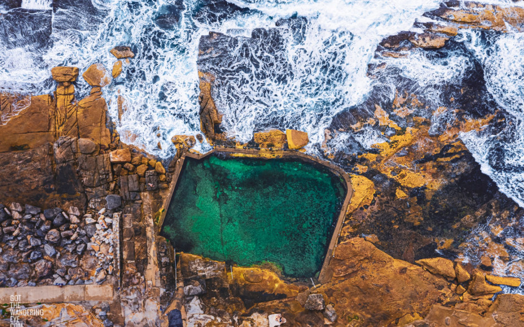 Aerial Oceanscape – Rockpools