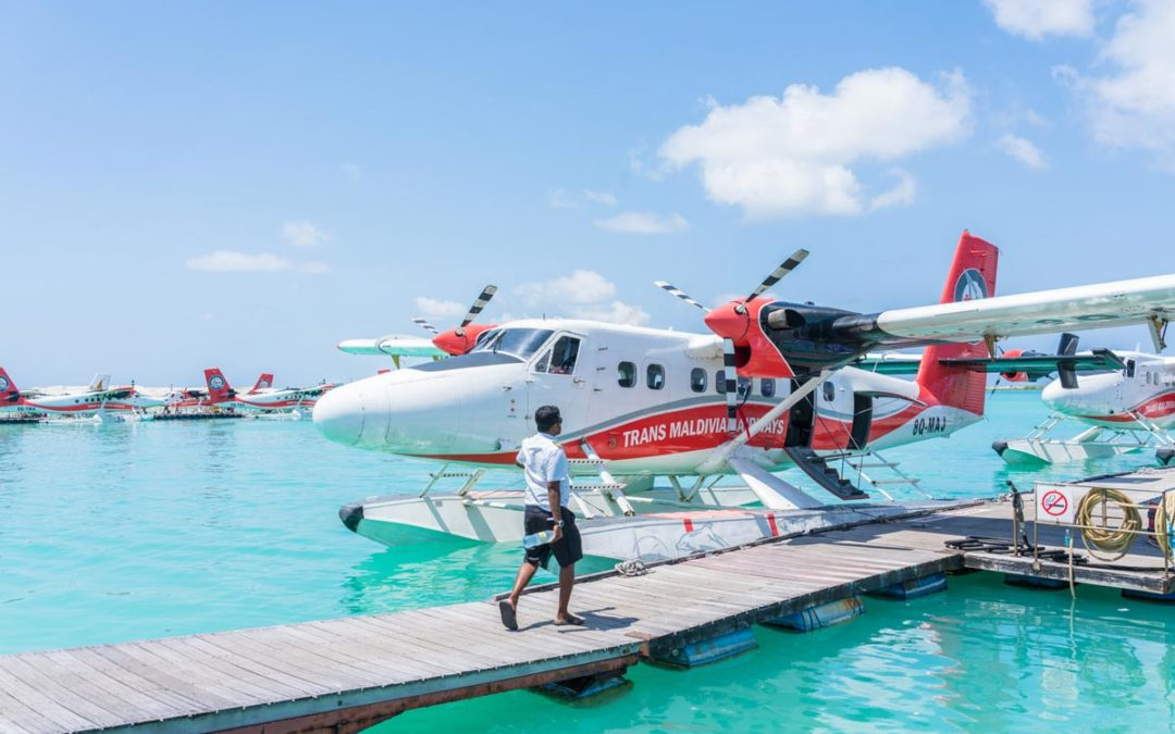 Maldivian Islands – Seaplane