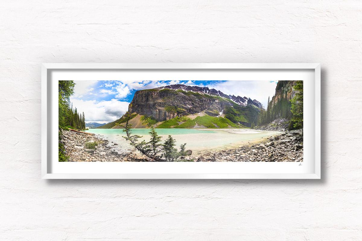 Fairview Mountain in Banff National Park, Lake Louise, Alberta, Canada